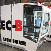 cabines pour machines de construction