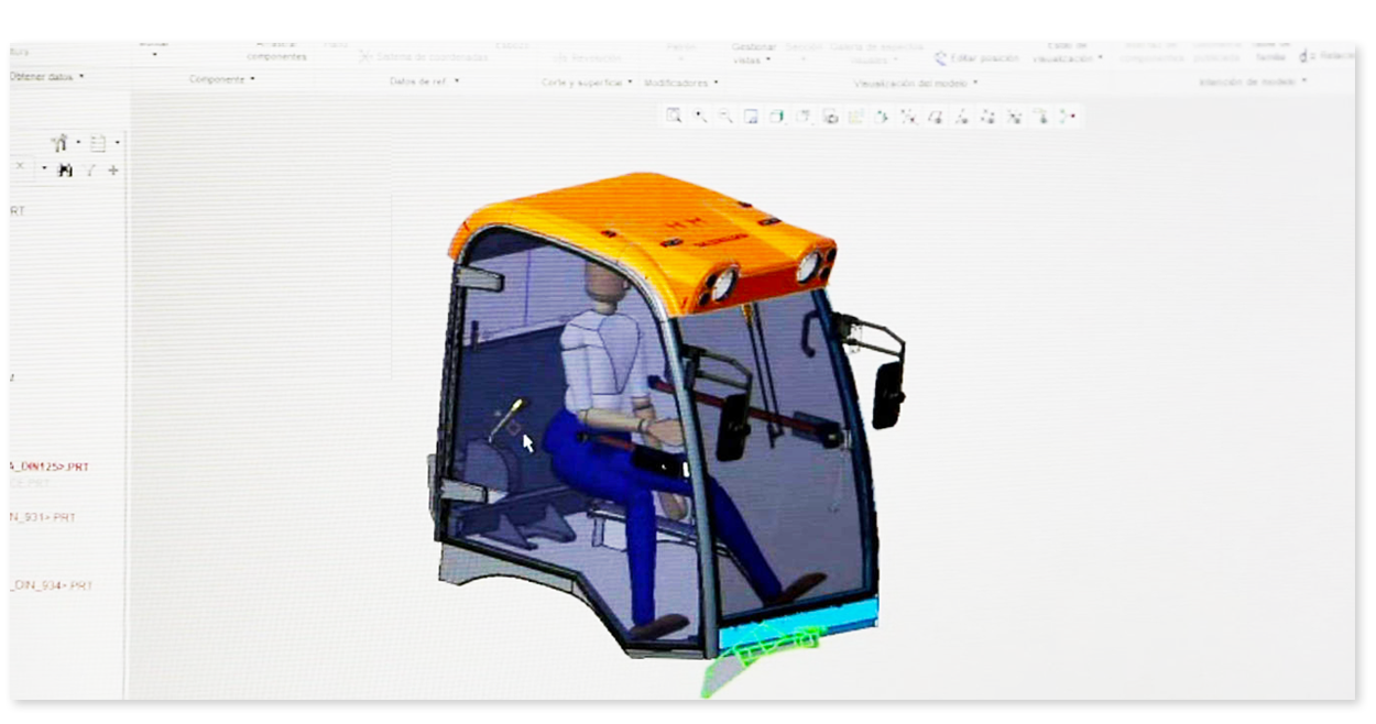design of command and control and passenger protection cabin