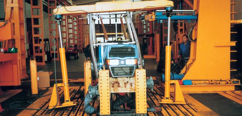fabricación de cabina