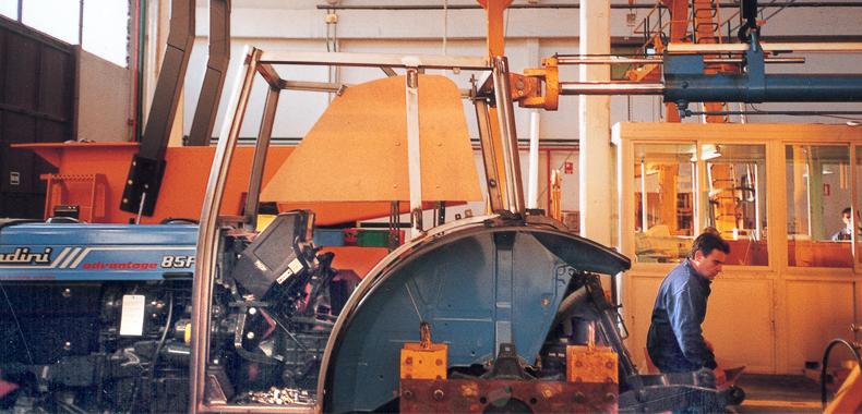 fabricación de cabina de tractores
